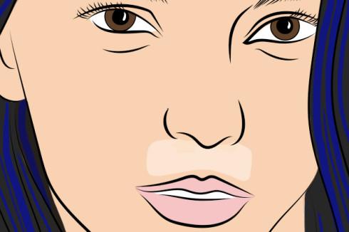 эпиляция волосков на верхней губе