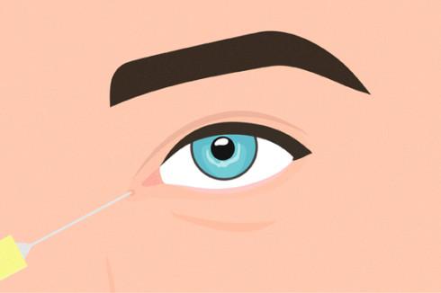 увеличение глаз