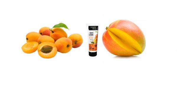 """Пилинг для лица """"Абрикосовый манго"""" от Органик Шоп"""