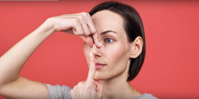 Техники массажа для изменения формы и размера носа